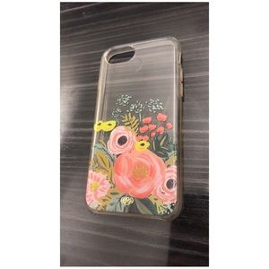 Floral Phone Case - IPhone 6, 7, 8